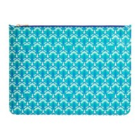 Liberty London Iphis Large Pouch Green