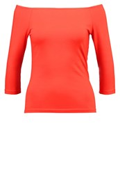 Dorothy Perkins Long Sleeved Top Red