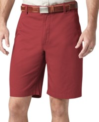 Dockers Perfect Short Classic Fit Bank Red