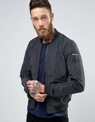 Replay Lightweight Bomber Jacket Black