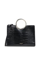 Kate Spade New York Sam Bracelet Medium Satchel Bag Black