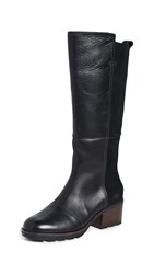 Sorel Cate Tall Boots Black