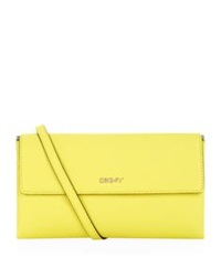 Dkny Bryant Park Saffiano Shoulder Bag Yellow