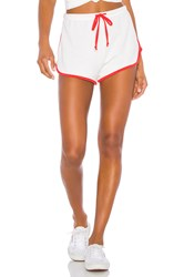 Wildfox Couture Pool Party Shorts White