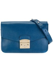 Furla Chain Strap Shoulder Bag Blue