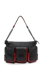 L.A.M.B. Eden Shoulder Bag Black