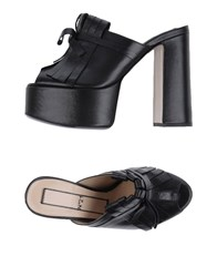 Ndegree 21 Sandals Black