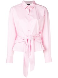 Armani Exchange Pretty Pink Blouse