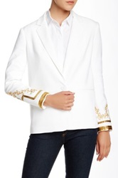 A.B.S. By Allen Schwartz Cocktail Blazer White