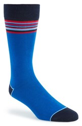 Ted Baker London Striped Socks Blue