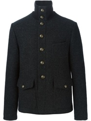 Dolce And Gabbana Military Jacket Grey