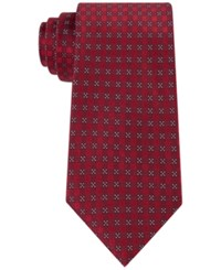 Calvin Klein Men's Red Hot Four Square Tie