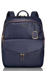 Tumi 'Sinclair Harlow' Coated Canvas Laptop Backpack Blue Moroccan Blue