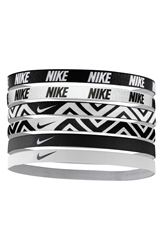Nike Sport Headbands 6 Pack Black White
