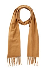 Amicale Solid Color Scarf Beige