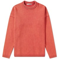 Our Legacy Popover Roundneck Knit Red