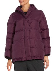 Eileen Fisher Solid Quilted Coat Raisenette