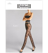 Wolford Floral Lace Leggings Black
