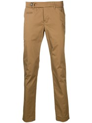 Al Duca D'aosta 1902 Straight Leg Trousers Brown