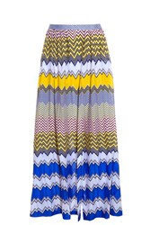Missoni Zig Zag Stripe Split Skirt