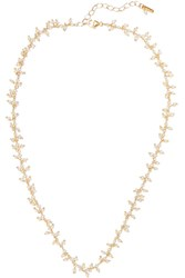 Chan Luu Gold Plated Pearl Necklace One Size Gbp