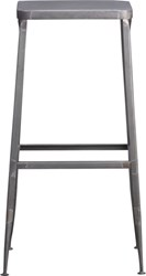 Cb2 Flint Steel 30'' Bar Stool