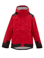 Helly Hansen Patrol Hooded Ski Jacket Red