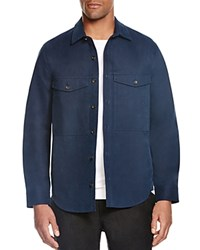 Steven Alan Double Pocket Shirt Jacket Navy