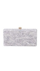 Deux Lux Crush Clutch White