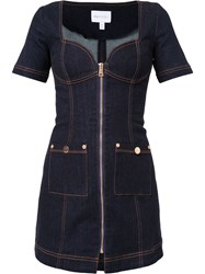 Alice Mccall Bloomsbury Mini Dress Blue