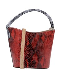 Ebarrito Handbags Red