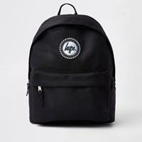 Hype Boys Black Hologram Logo Backpack