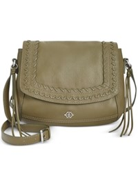 Nanette Lepore Cortina Flap Crossbody Olive