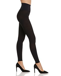 Commando Opaque Footless Tights Black