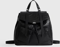 Allsaints Polly Leather Backpack Black