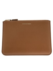 Comme Des Garcons Play 'Luxury Group' Wallet Nude And Neutrals