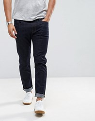 Selected Homme Jeans In Straight Fit Blue