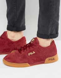 Fila Original Fitness Premium Trainers Red