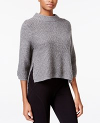Rachel Roy High Low Sweater Medium Heather