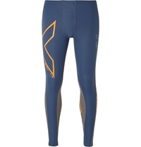 2Xu Wind Defence Compression Tights Blue