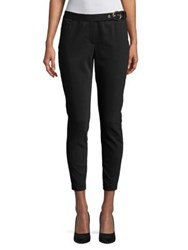Ivanka Trump Cropped Cigarette Pants Black