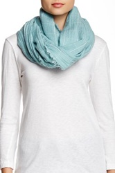 Cejon Window Pane Infinity Scarf Blue