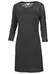Fat Face Tenby Knitted Dress Black