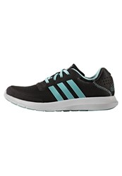 Adidas Performance Element Neutral Running Shoes Core Black Easy Mint Footwear White
