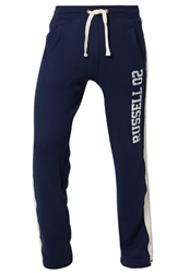 Russell Athletic Tracksuit Bottoms Ink Dark Blue
