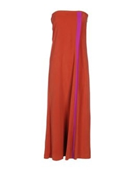 Gryphon 3 4 Length Dresses Rust