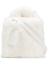 Natasha Zinko Mini Box Bag White