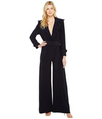 Norma Kamali Double Breasted Trench Elephant Jumpsuit Midnight Women's Jumpsuit And Rompers One Piece Navy
