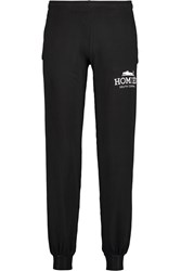 Brian Lichtenberg Homies Cotton Blend Jersey Track Pants Black