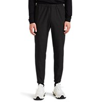 Theory Pier Tech Flannel Suiting Joggers Charcoal